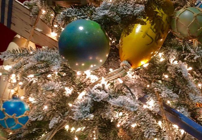 Nautical Christmas Tree Buoy Ornaments