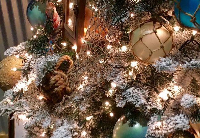 Nautical Christmas Tree Fishing Nets