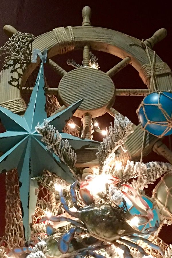 Nautical Christmas Tree Topper