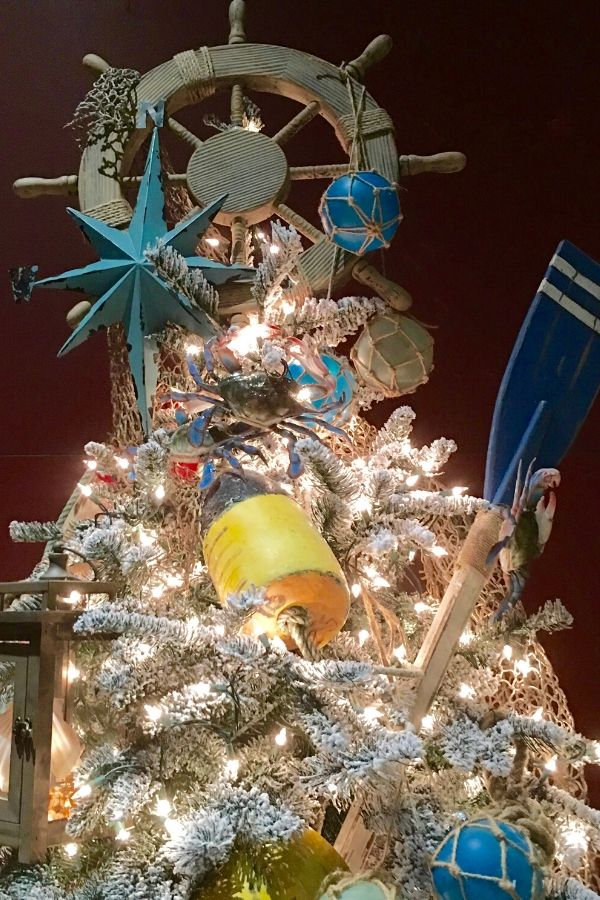 Nautical themed Christmas tree