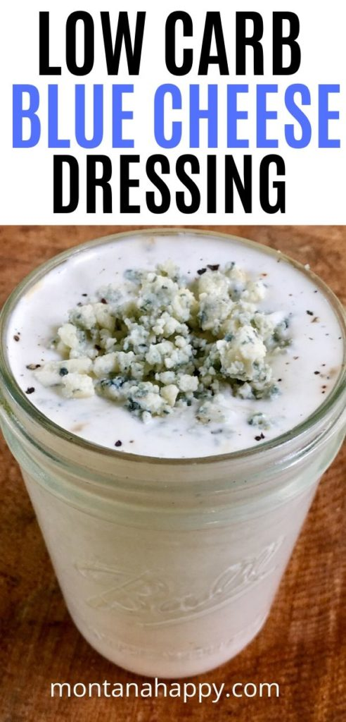 Low Carb Blue Cheese Dressing