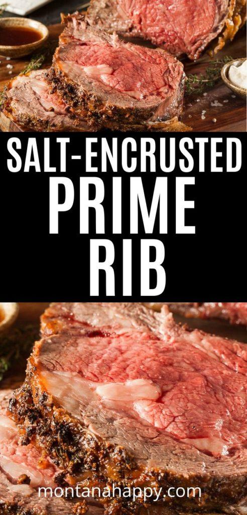 Salt-Encrusted Prime Rib Recipe