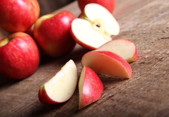Chocolate Fondue Dippers - Apples